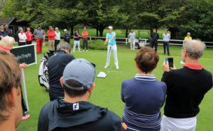 Comment s'adapter le plus vite possible à la vitesse ou à la lenteur des greens ? - Open Golf Club