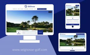 The Golf de Seignosse website has a brand new look! - Open Golf Club