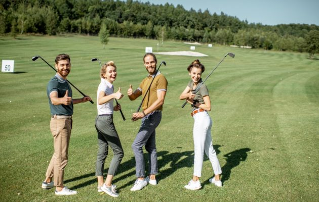 Golfing Initiation Days !